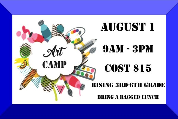 Art Camp Poster 6-16 to 7-28