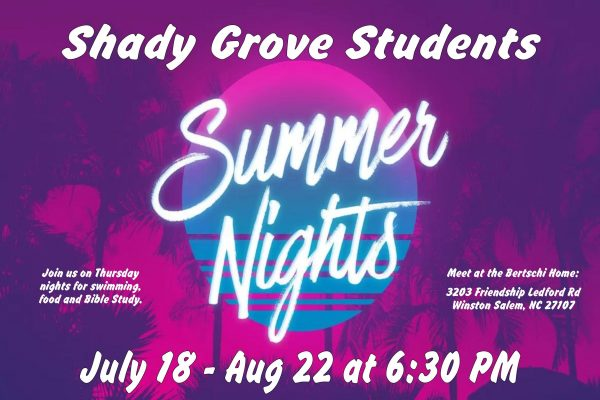 Summer Nights Poster 7-7 to 8-18