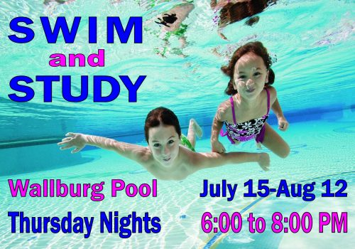 Swim and Study Poster 6-13 to 8-12