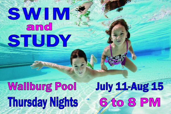 Swim and Study Poster 6-2 to 8-4